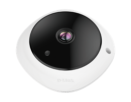 DCS-4625 5-Megapixel Panoramic Fisheye Camera - front view