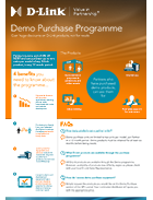 D-Link Partners Programme Demo Purchase Brochure