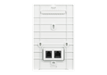 DAP-2620 Wireless AC1200 Wave 2 In-Wall PoE Access Point - back side