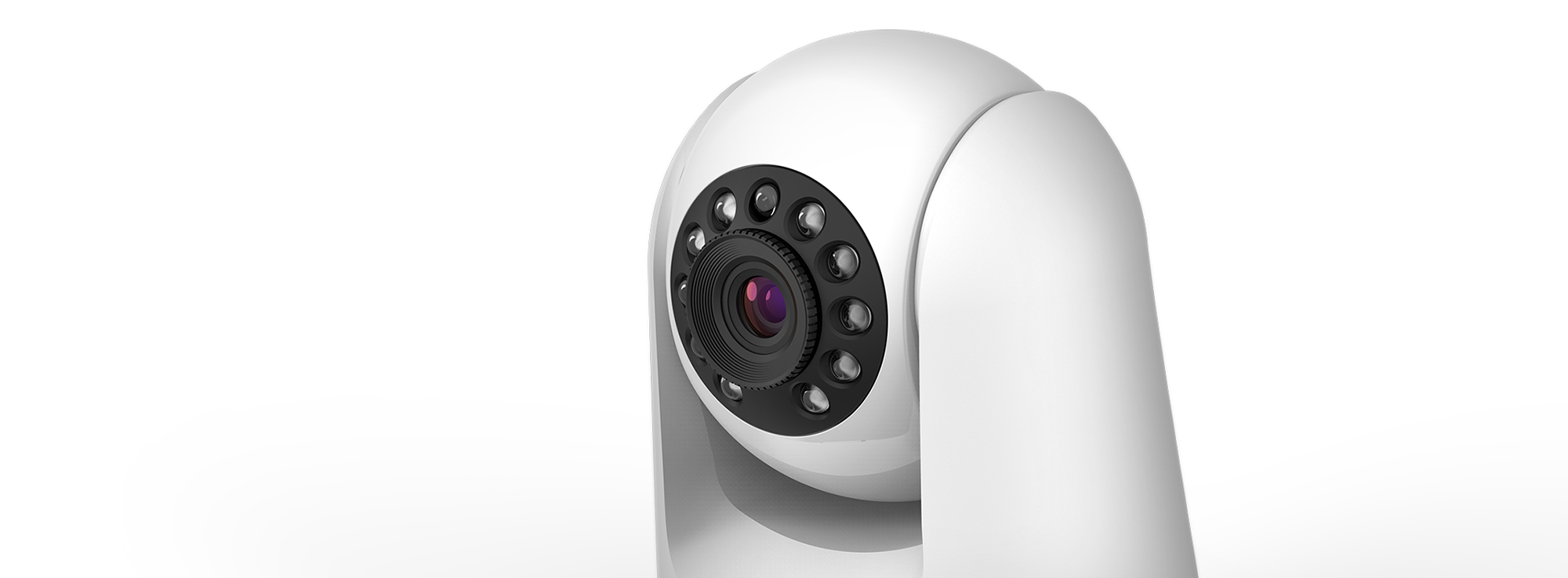 Side view of DCS-8525LH mydlink Full HD PT Indoor Camera
