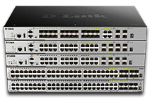 D-Link managed switches include the powerful DGS-3630