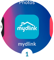 Download the free mydlink app