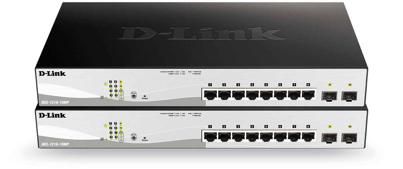 Smart switch with fibre uplinks detail