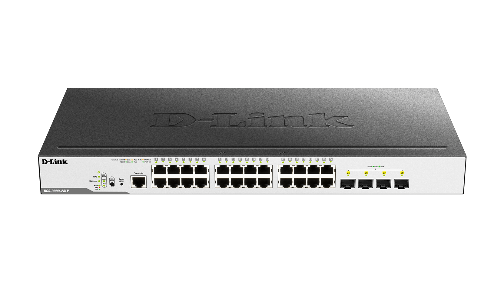 DGS-3000-28LP Gigabit L2 Managed Switch