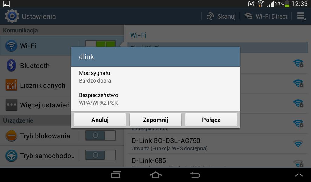 Lokalne aplikacje do podłączania Androida