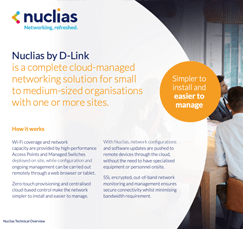 Nuclias cloud networking Technical guide