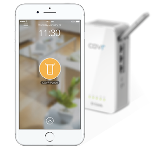 Simple setup through the D-Link Wi-Fi free mobile app for iOS and Android