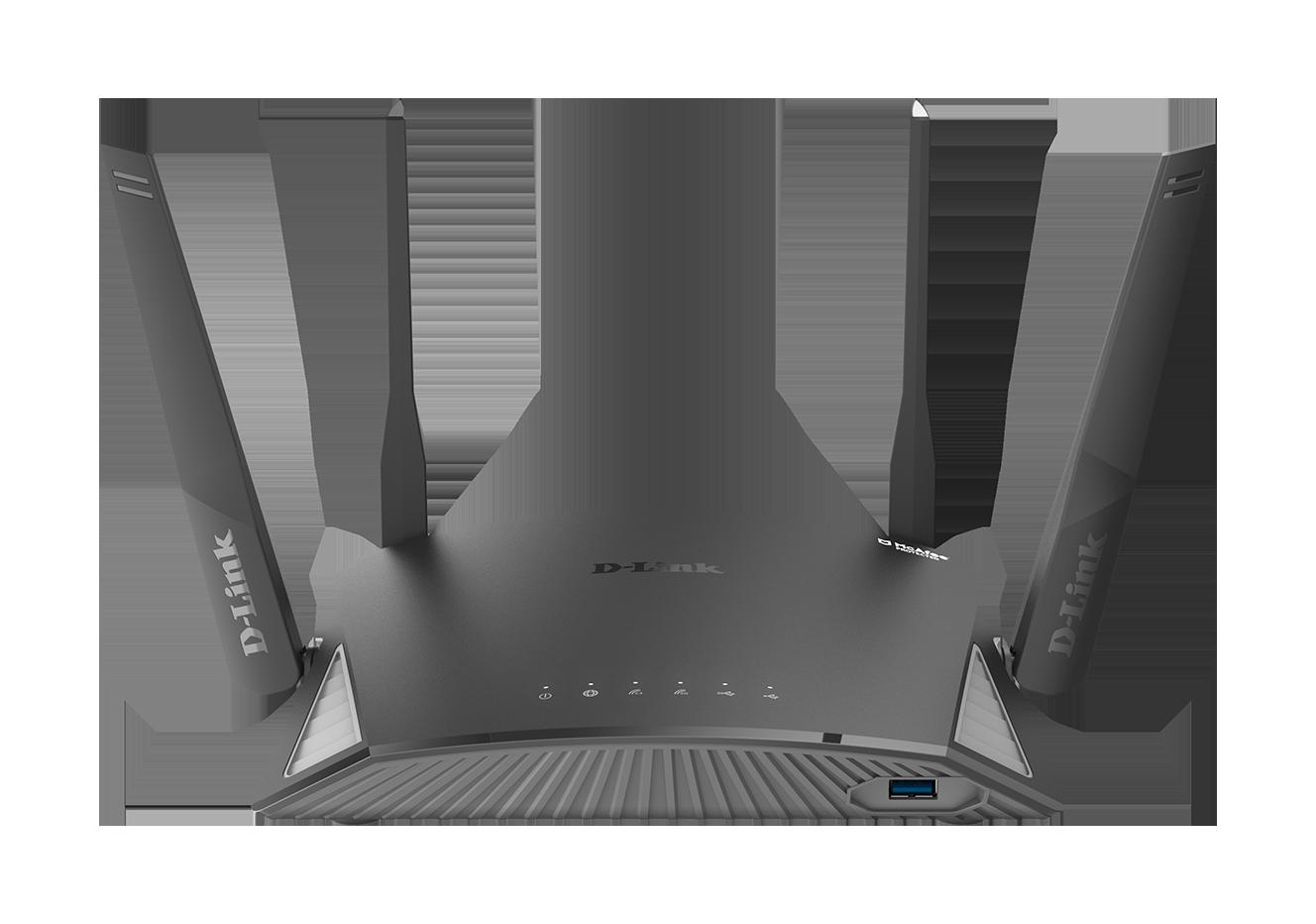 DIR-2660 EXO AC2600 Smart Mesh Wi-Fi Router front