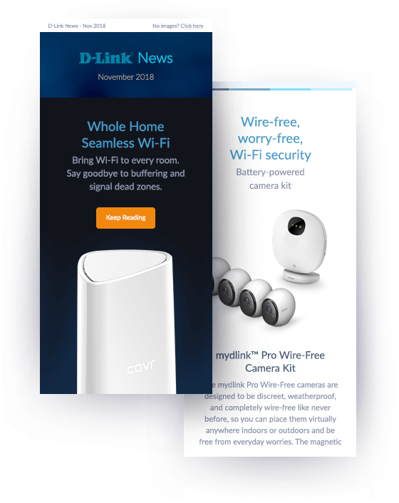 D-Link Newsletter preview