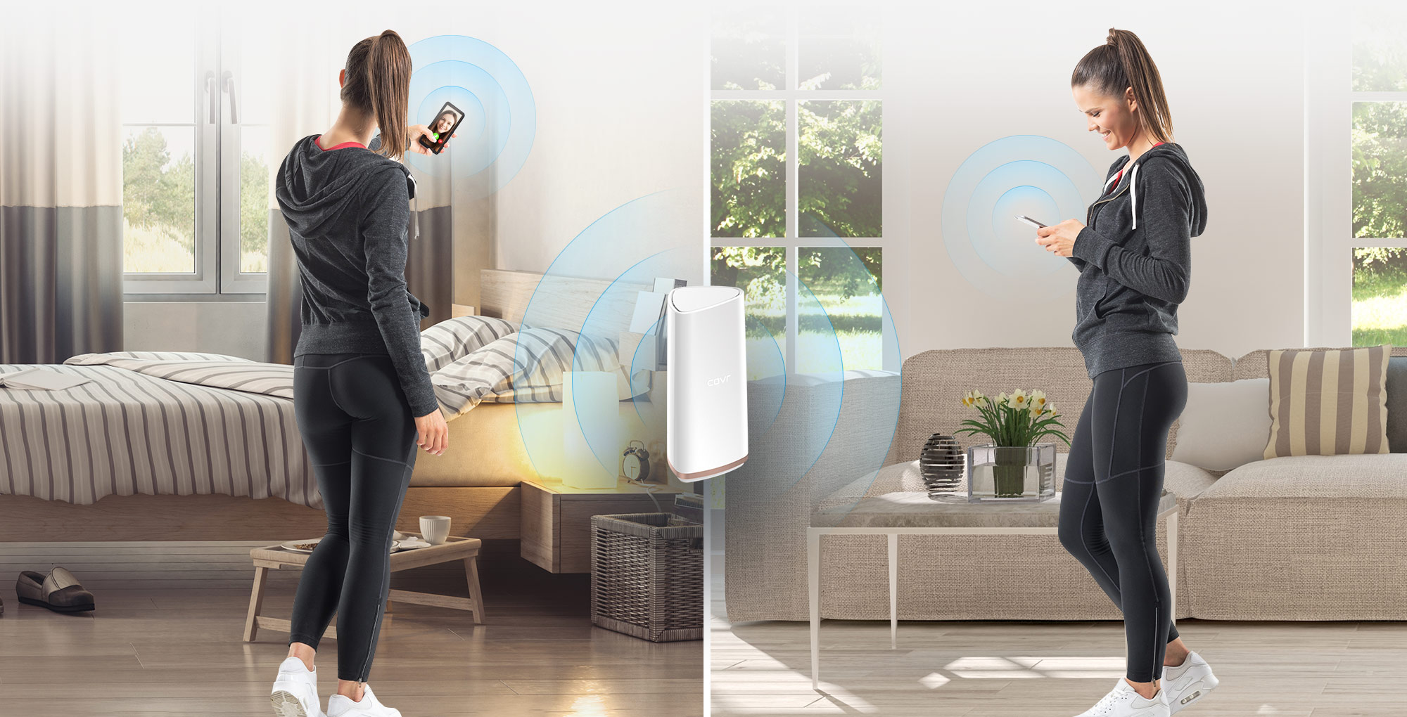 Seamless WiFi connection in your entire house