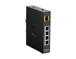 DIS-100G-5PSW Industrial Gigabit Unmanaged Switches