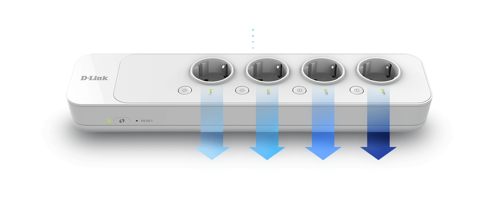 Control 4 power sockets from your phone