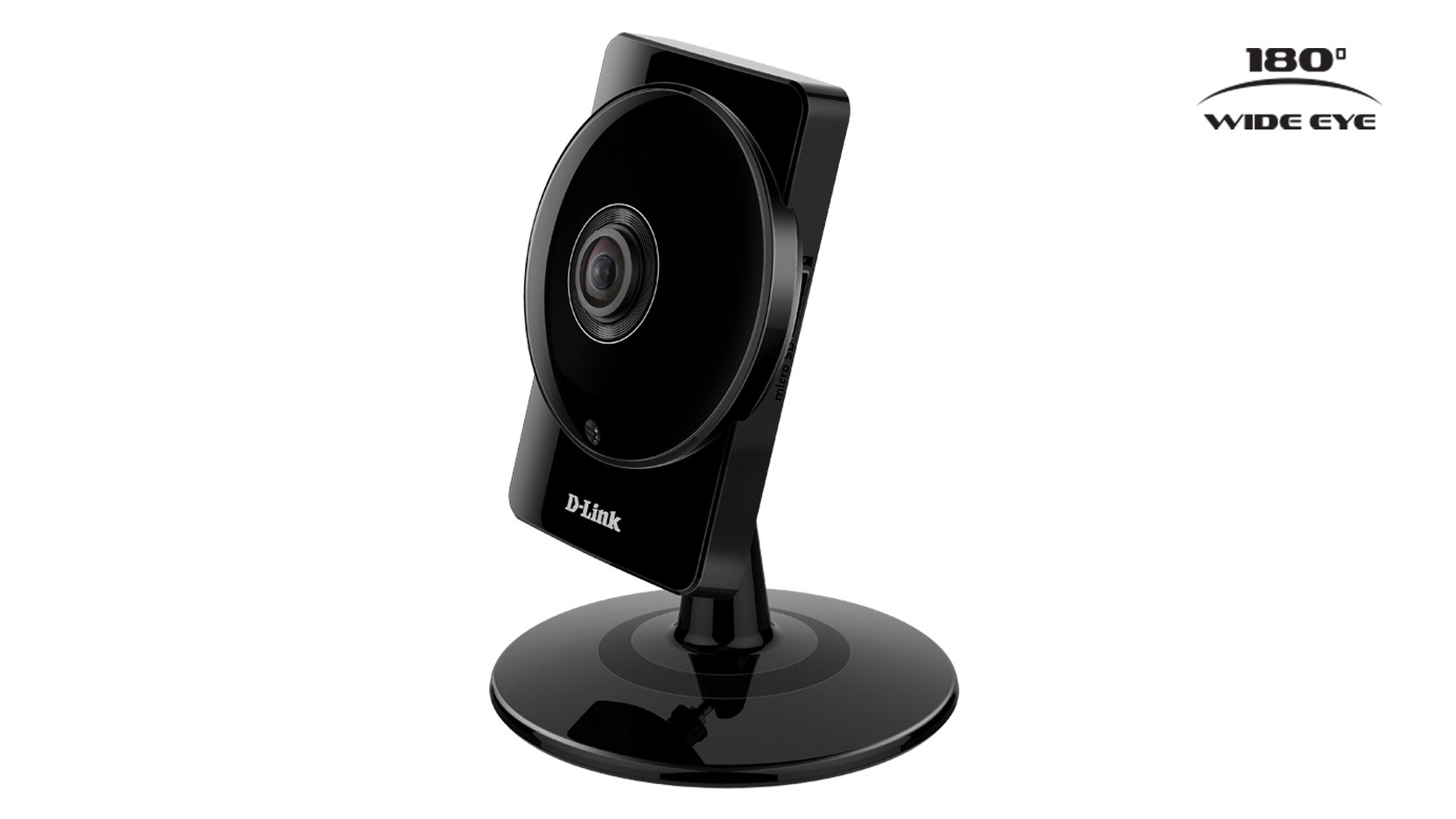 DCS-960L HD 180° Panoramic Camera side left