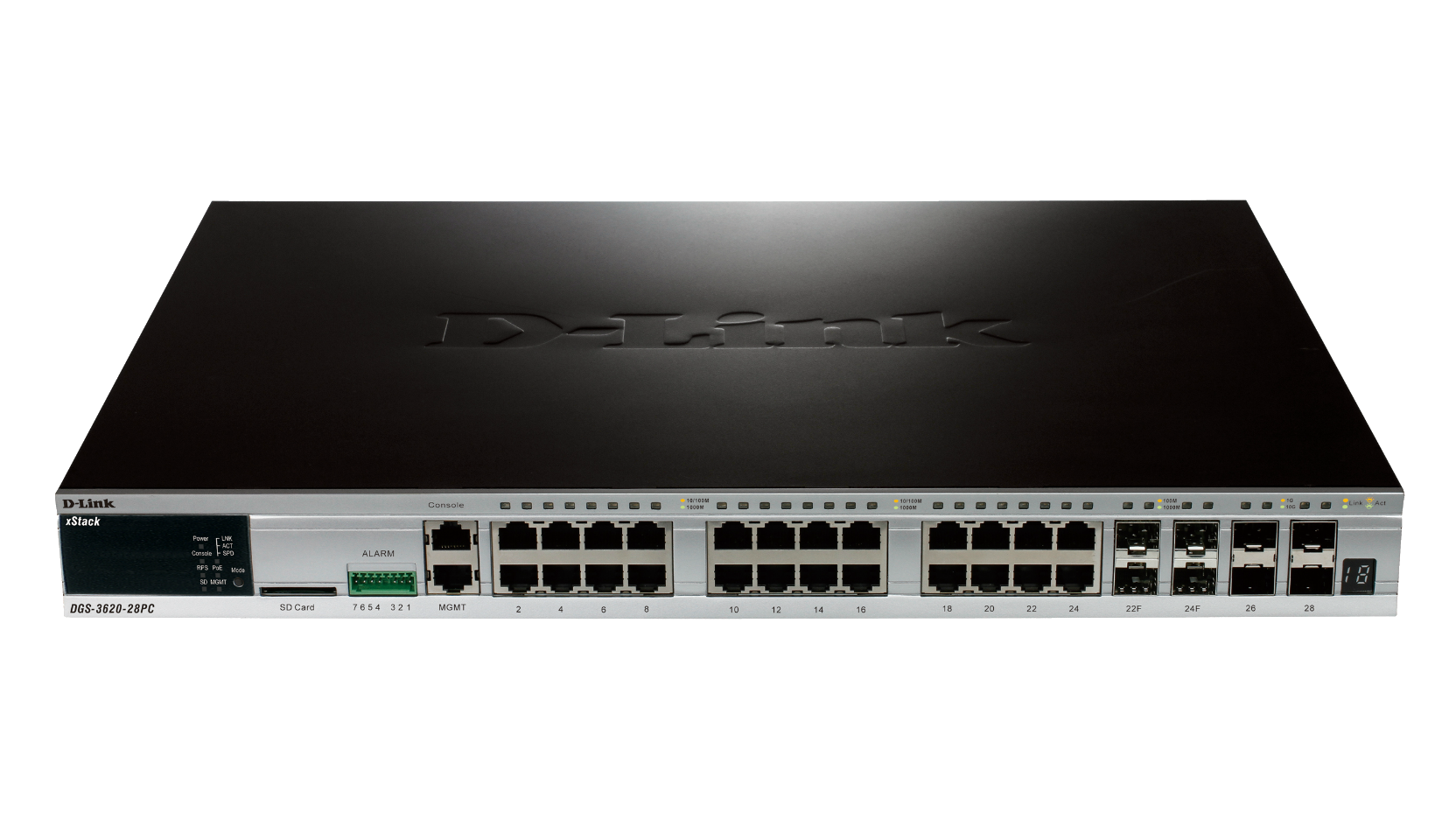 D-Link DGS-3620-52T-EI L3 Gigabit Switch Windows 7