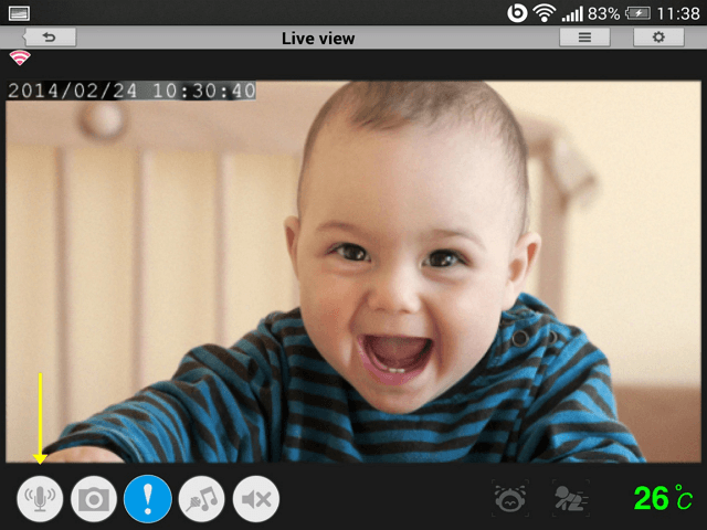 How_To_communicate_through_my_Eyeon_Baby_camera