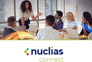 Nuclias connect in a boardroom