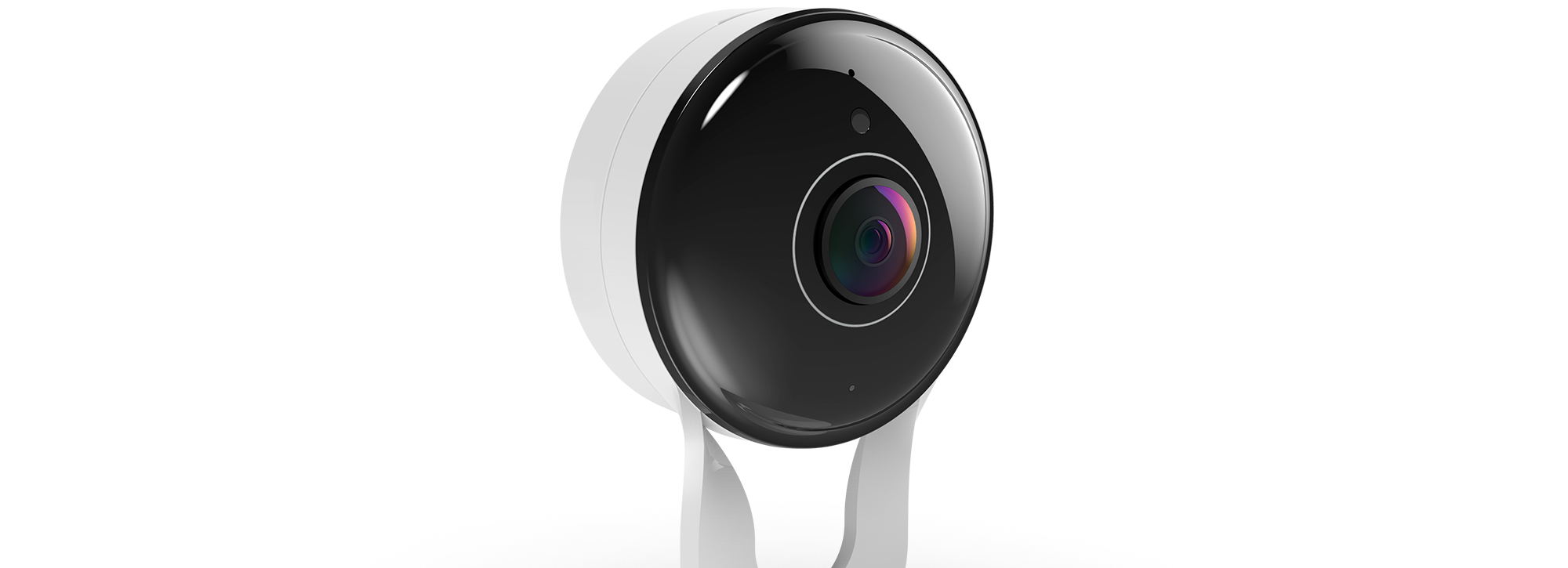 Side view of DCS 8300LH mydlink Full HD indoor Camera