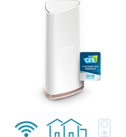 COVR-2202 Tri-Band Wi-Fi performance with dedicated backhaul
