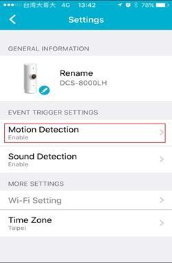 How to setup Motion detection ? | D-Link Sweden