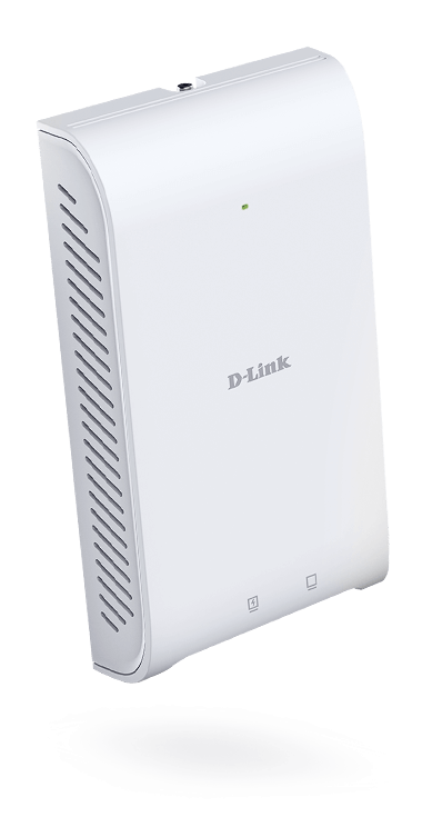 DAP-2622 Wireless AC1200 Wave 2 In-Wall PoE Access Point.