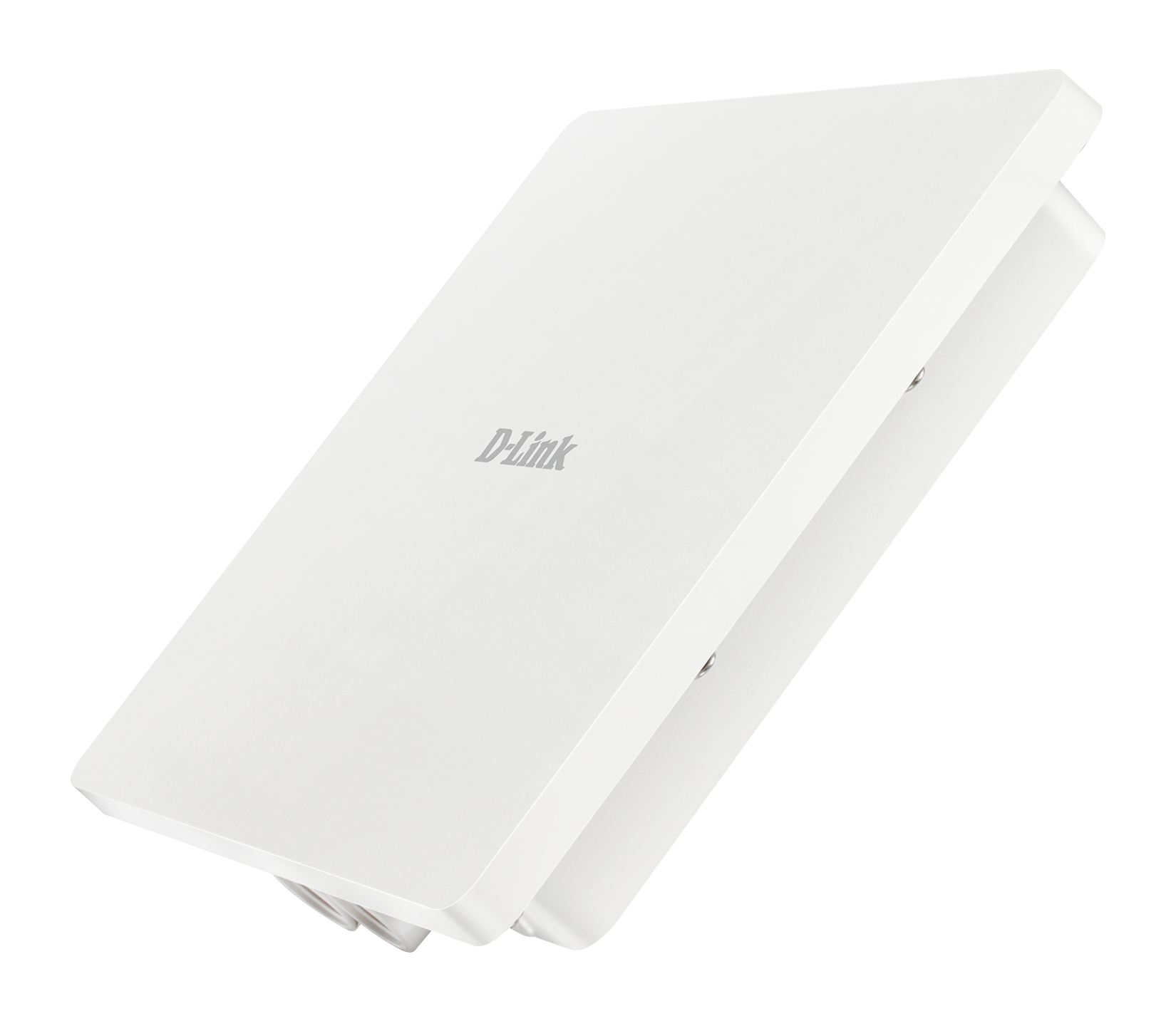 DAP-3666 Wireless AC1200 Wave 2 Dual-Band Outdoor PoE Access Point - Left Side Angled
