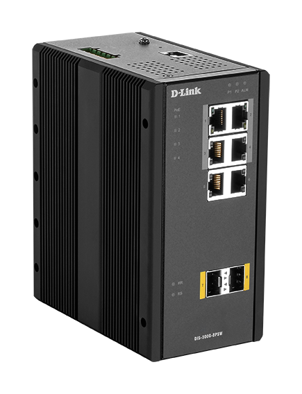 DIS-300G-8PSW Industrial Gigabit Managed Switches