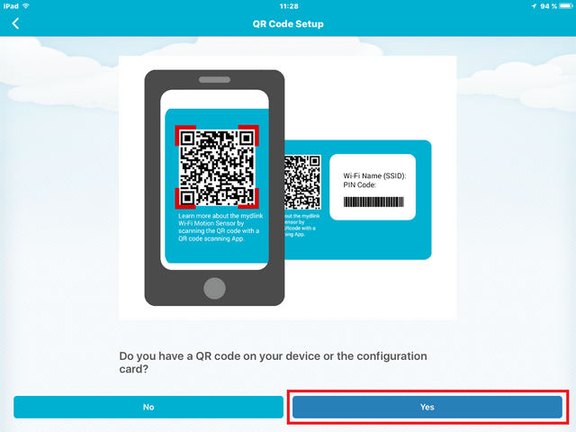 DCS_960L How to Install with QR Code with an iPad