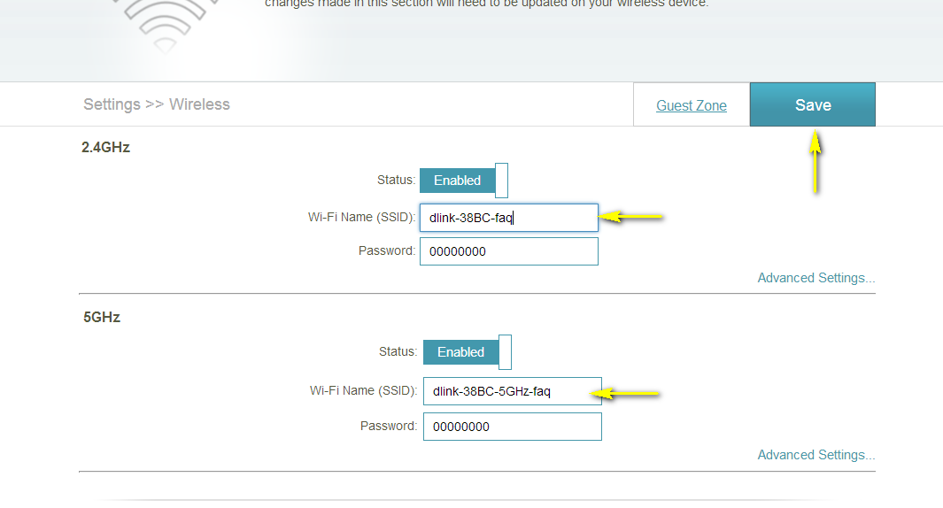 How do I change the SSID/network name of my router? | D-Link UK