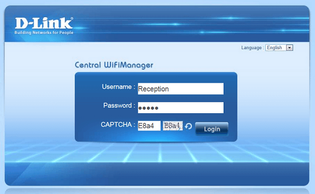 How to Setup Captive Portal and Passcodes CWM-100 | D-Link UK