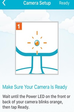 How do I setup my Wi-Fi camera using the mydlinkLite App