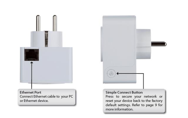 How To Setup The Dhp P308av Powerline Mini Adapter D Link Uk
