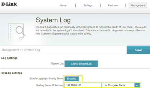 How to check system log for router? | D-Link UK