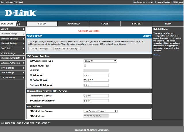 HOW to Setup VPN IPsec Between DSR-Series   D-Link UK