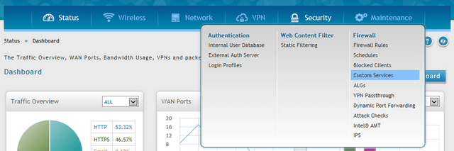 HOW to Setup Load Balancing with Multiple WAN links - DSR