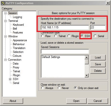 DWS 3160 Upgrade a Managed Access Point via tftp and SSH