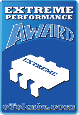 eTeknix Extreme Performance Award