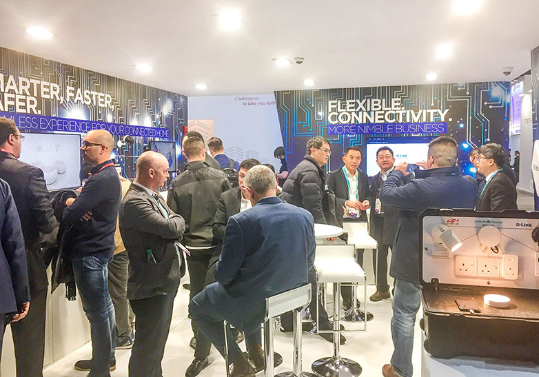 D-Link MWC 2018 Booth