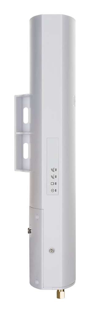 DBA-3620P Nuclias Wireless AC1300 Wave 2 Cloud‑Managed Outdoor Access Point - side face on.