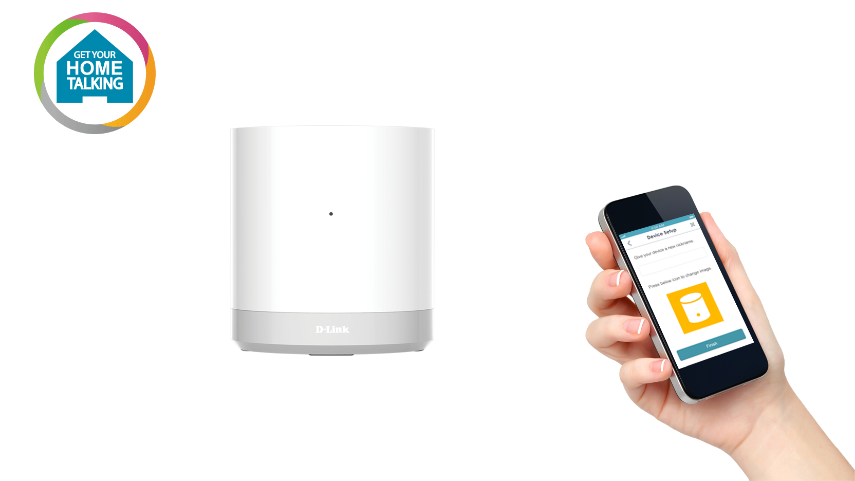 DCH-G020 mydlink Home - Connected Home Hub Front