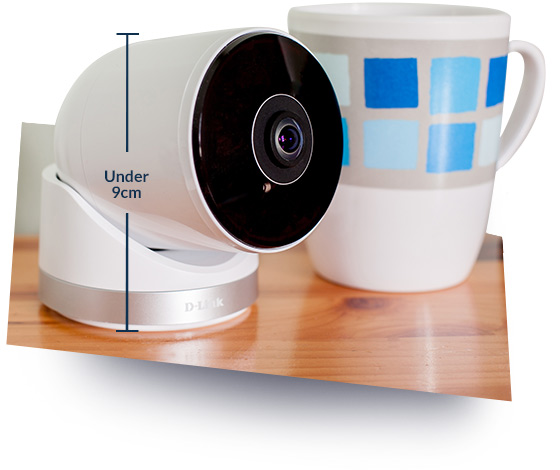 D-Link IP-Kamera DCS-8300LH 1080p Full HD Bluetooth weiß