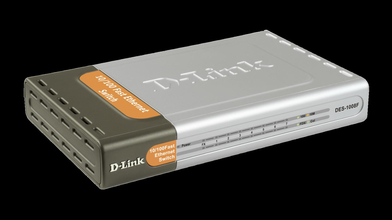 DES 1008F 8 Port Fast Ethernet Unmanaged Desktop Switch Including