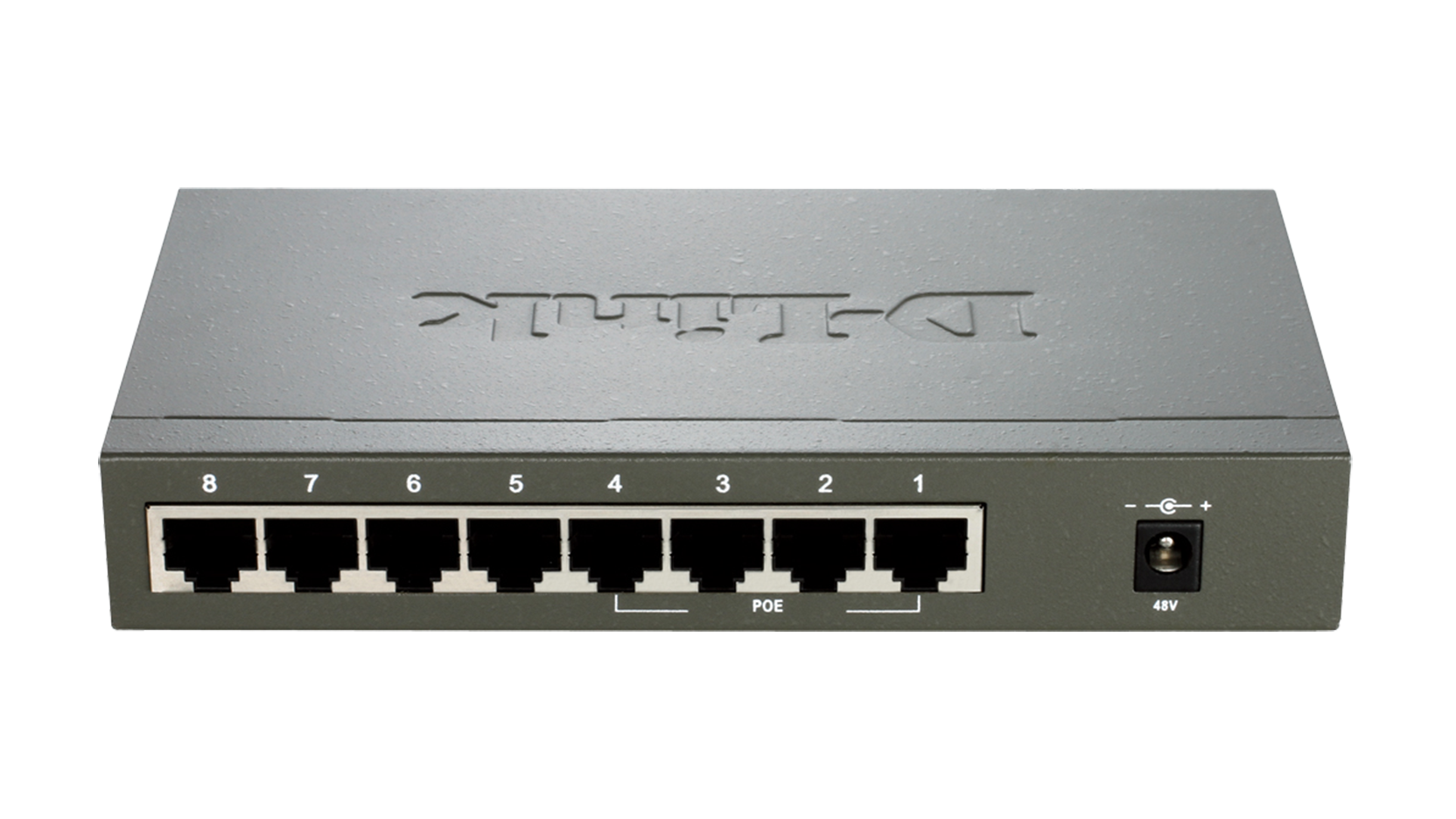 Des 1008pa 8 Port Fast Ethernet Poe Desktop Switch D Link Uk