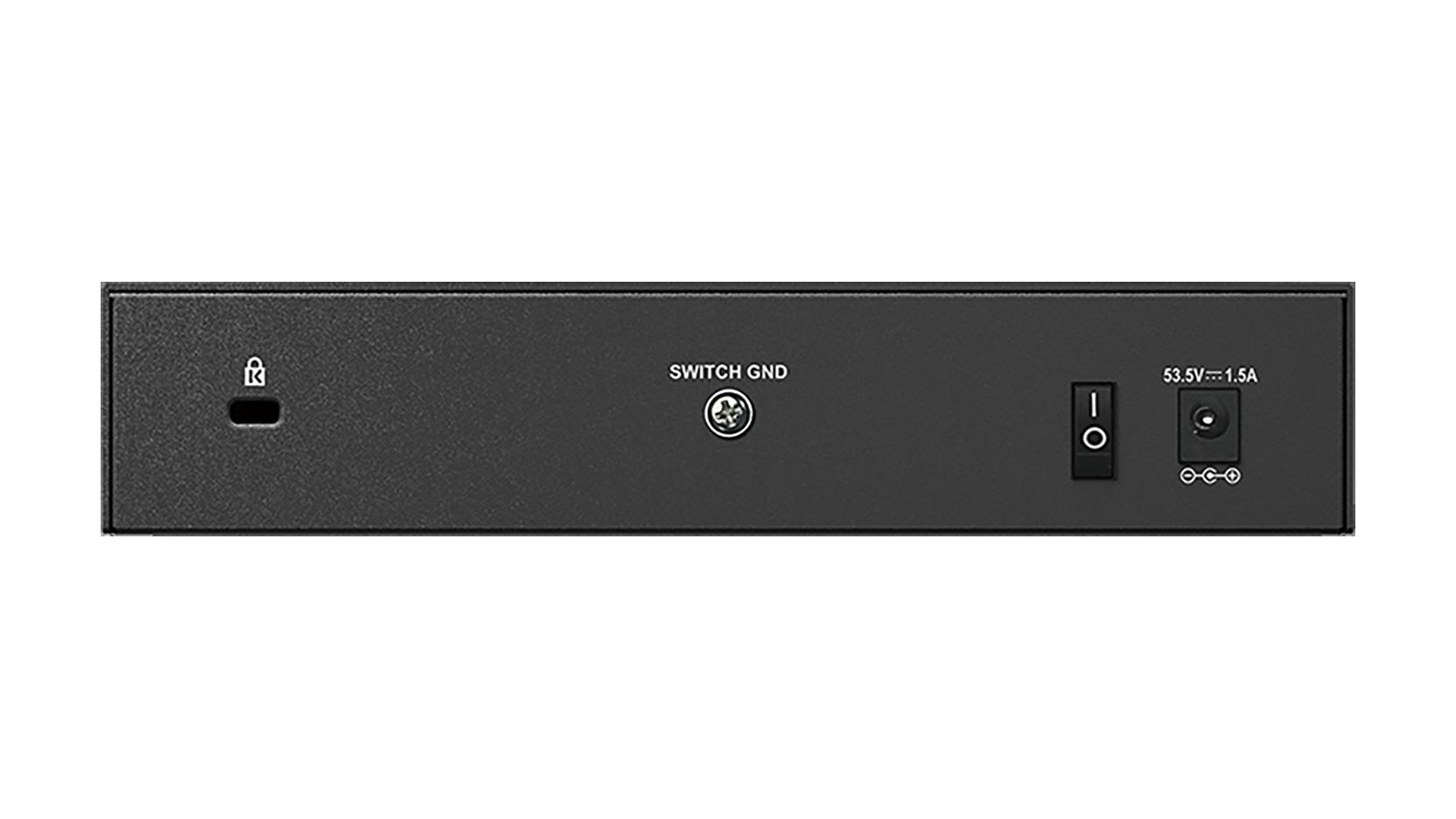 Dgs 1008p 8 Port Gigabit Poe Unmanaged Desktop Switch D