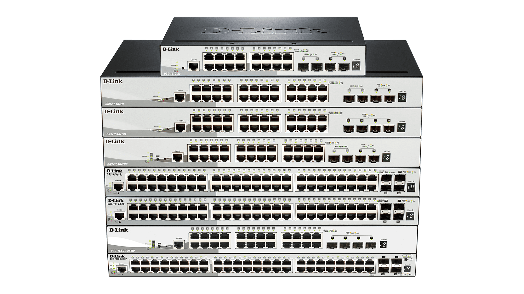 DGS-1510 Stackable Smart Managed Gigabit Switches | D-Link UK
