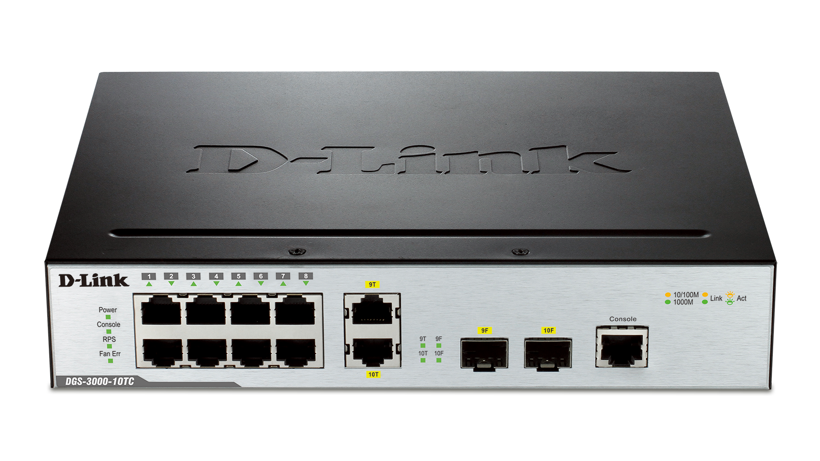 Dgs 3000 10tc 10 Port Gigabit L2 Managed Switch D Link Uk