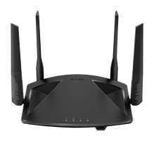 DIR-X1860 AX1800 Wi-Fi 6 Router - Front
