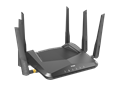 DIR-X5460 AX5400 Wi-Fi 6 Router - right side view.