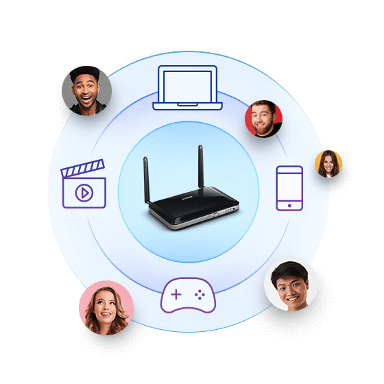 4G LTE Router - a constant connection for home devices