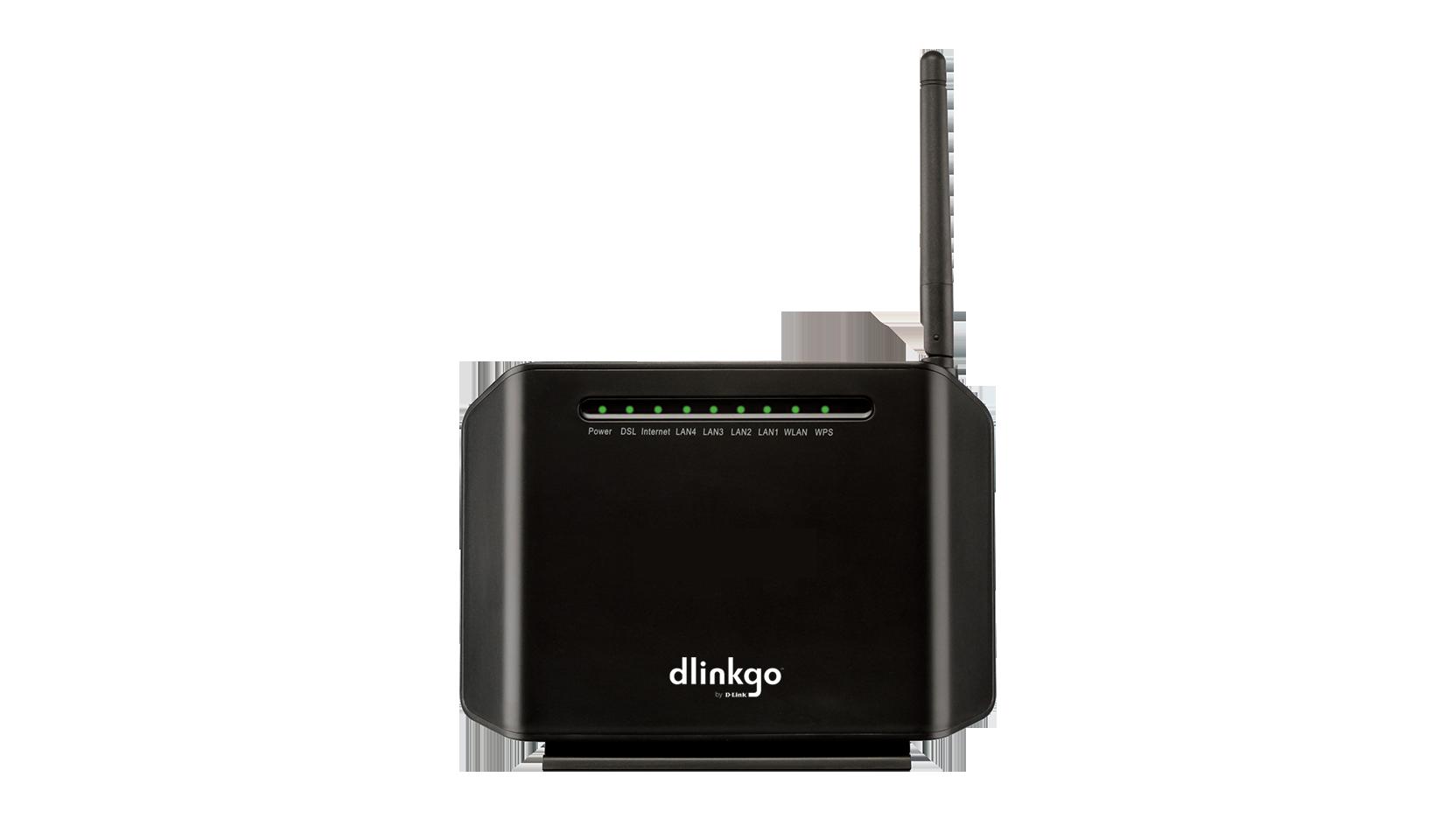 GO DSL N150 Wireless N150 ADSL2+ Easy
