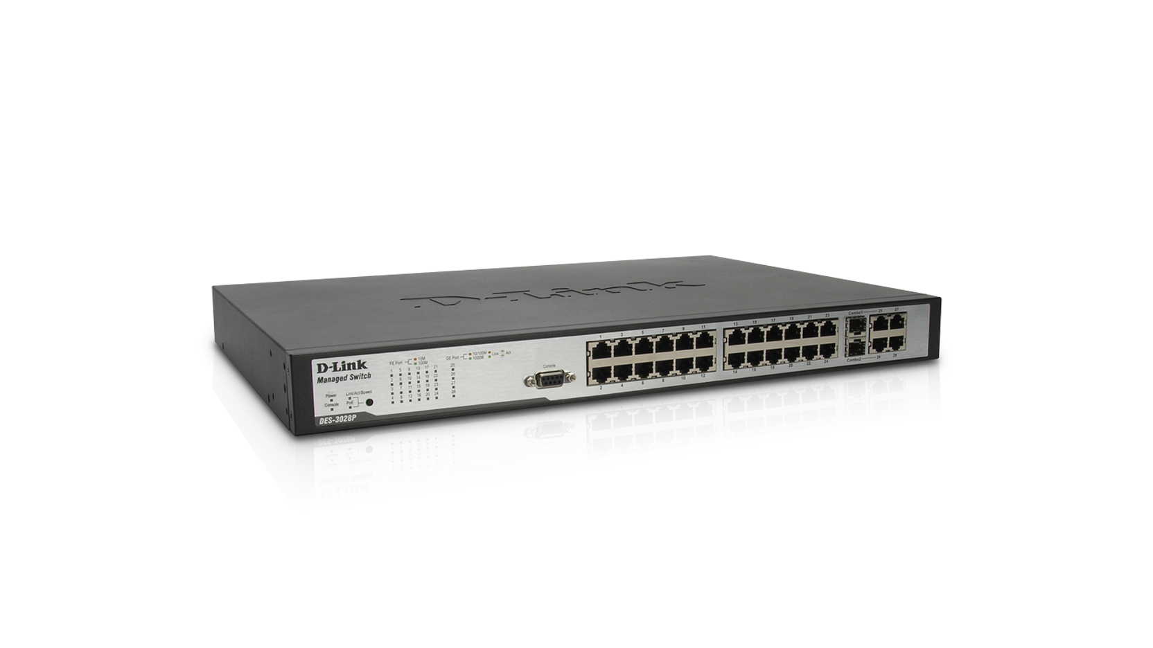 D-Link DES-3028P Fast Ethernet L2+ Switch Driver UPDATE